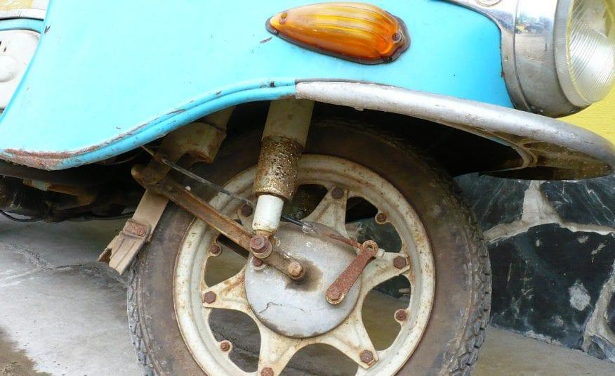 Čz 175 Skúter Veterán Motocykel